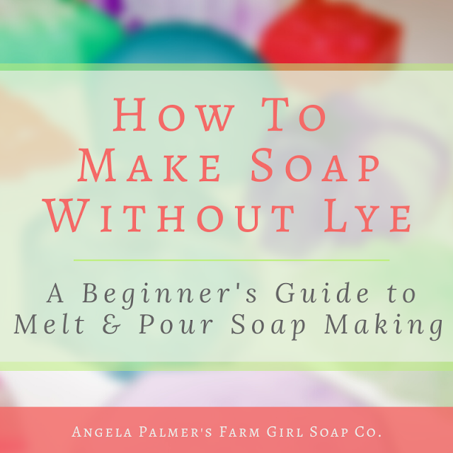 Learn how to make soap without lye, with this beginner's guide to melt and pour soap making. Everything you need to know to get started making your own handmade soap without lye.