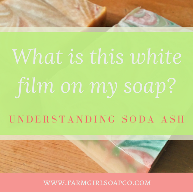 What Causes a White Film on Handmade Soap?