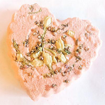 Raspberry Truffle DIY Bath Bomb Recipe