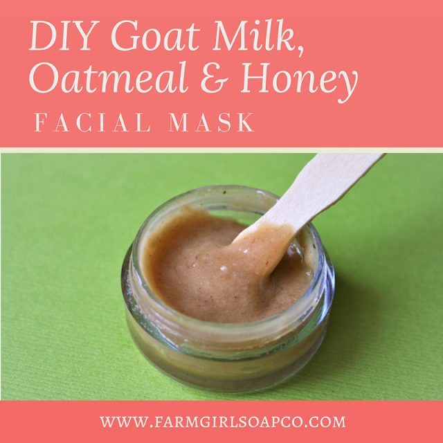 This oatmeal, milk, and honey DIY face mask recipe will leave your skin positively glowing. It's an incredibly easy DIY facial mask recipe, and whips up in just a few minutes. Learn how to make this oatmeal, milk, and honey face mask recipe now. By Angela Palmer at Farm Girl Soap Co.