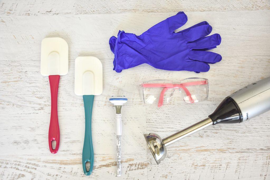 Soap makign supplies