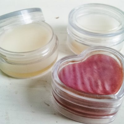 All-Natural DIY Peppermint Lip Balm
