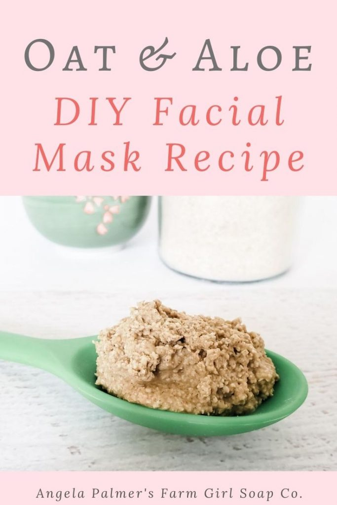 This oat and aloe DIY facial mask recipe does it all. From dry, dull complexion to red, irritated, environmentally-stressed skin, this mask works wonders. You can whip it up in just minutes with simple, all natural ingredients. Ready to give it a try? Pin to save, then click over to my farm blog to learn how to make this easy oat and aloe DIY facial mask recipe.