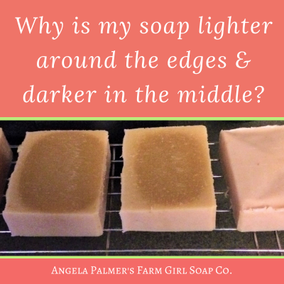 Why Does My Soap Have a Dark Center and Light Edges?